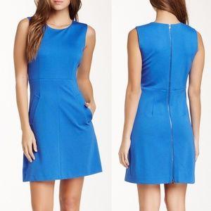 DIANE VON FURSTENBERG Carpreena Mini Dress Blue P1